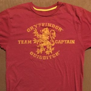 Gryffindor Quidditch T-shirt size small